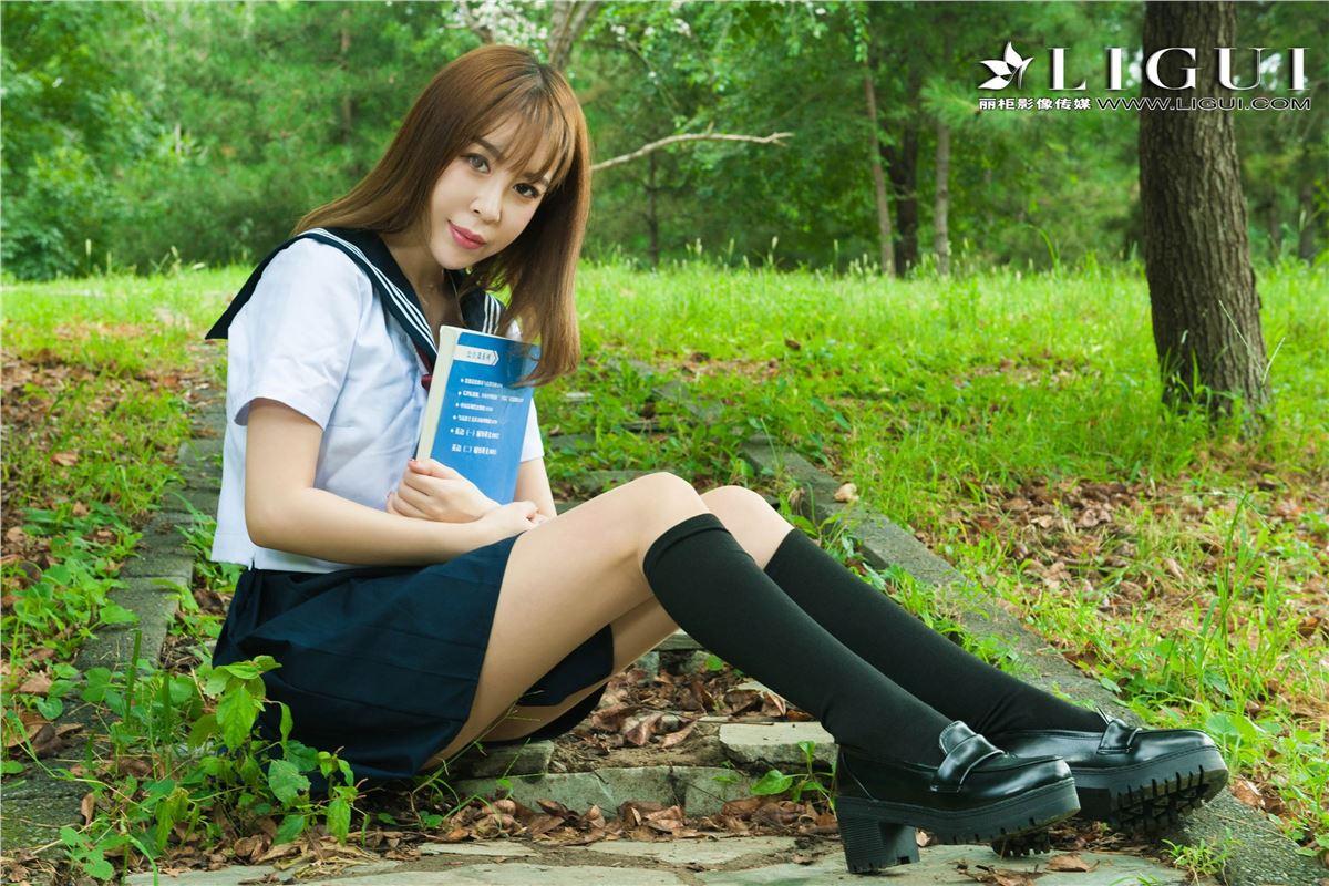 [Ligui丽柜]2018.09.10 网络丽人 Model Vicky