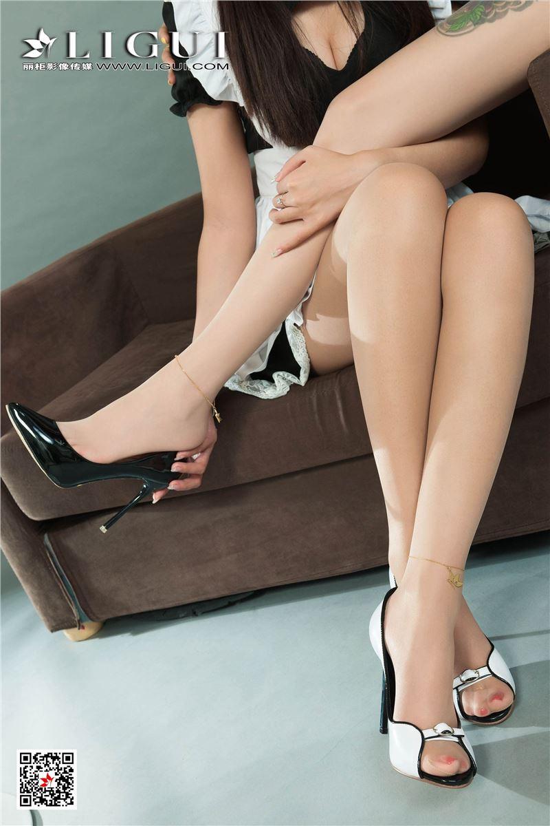 Ligui丽柜 2020.01.03 网络丽人 Model 轩轩&甜甜