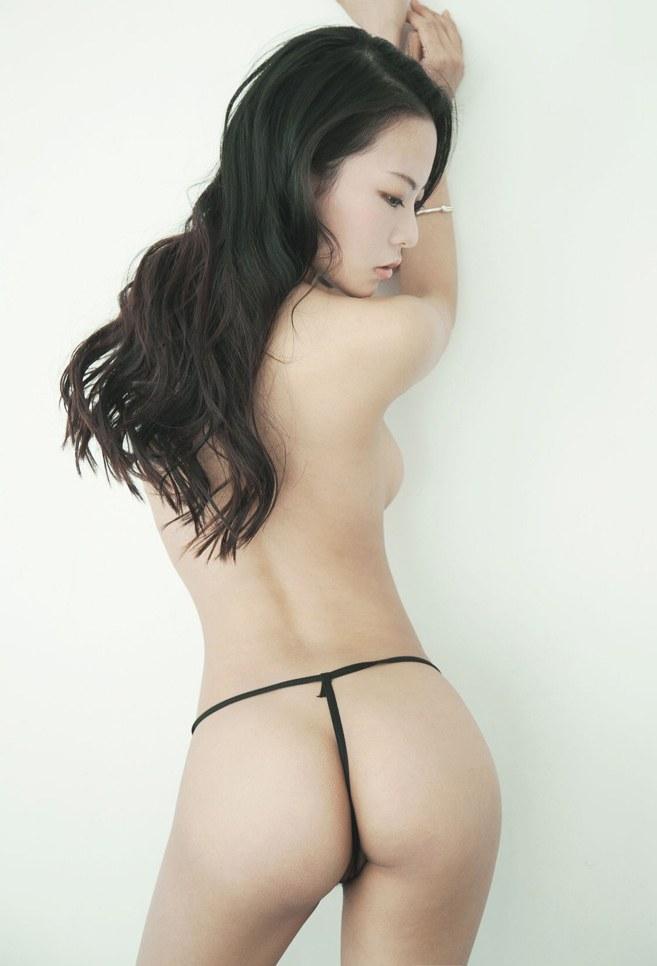 美女模特楠楠性感丁字裤