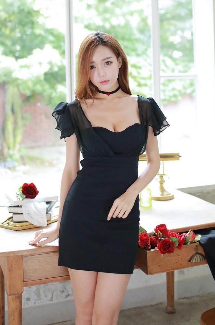 韩国成熟丰满美女道晖芝性感诱惑照清纯
