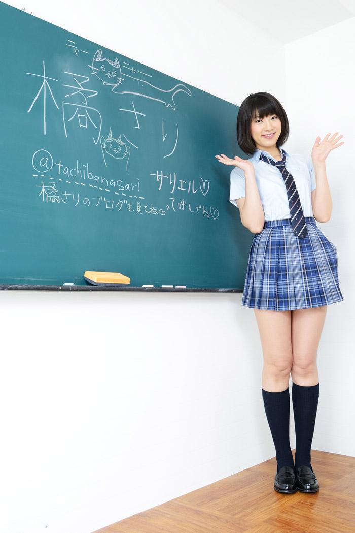 日本大阪大学校花橘さり撩裙制服祼体美